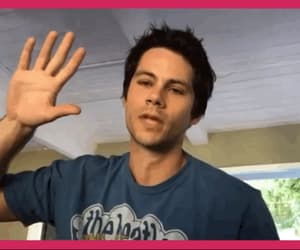 cutie, dylan o'brien, and gif image