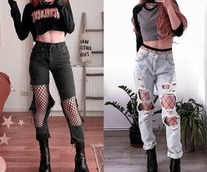 aesthetic, dark, and fashion image