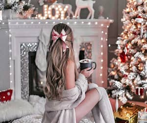 beautiful, draw, and merry christmas image