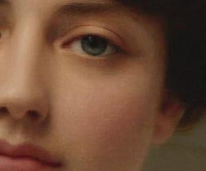 aesthetic, eyes, and John William Godward image