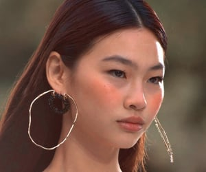 asian, blush, and model image