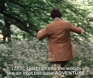 adventure, funny, and quotes image