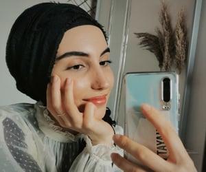 beauty, hijab, and Turkish image