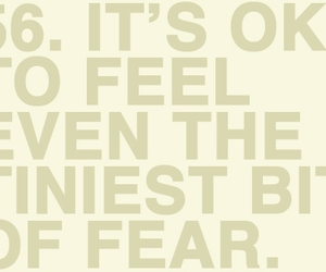 fear, ok, and quote image