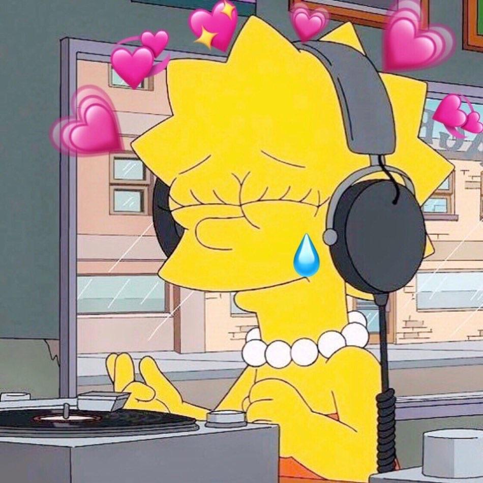 lisa, music, and simpson image