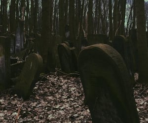 gothic, cemetery, and wallpaper image