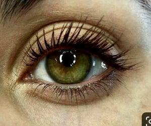 eye lashes, green eyes, and pretty eyes image