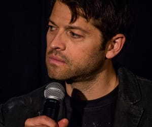 lucifer, spn, and mishacollins image