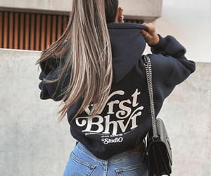 fashion, jeans, and woman girl image