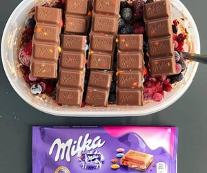 food and milka image