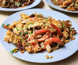 oyster, asian food, and seafood image