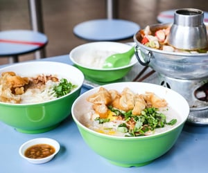 porridge, asian food, and congee image