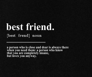 best friend, black white, and book image