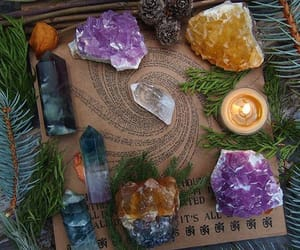 crystals and witchcraft image