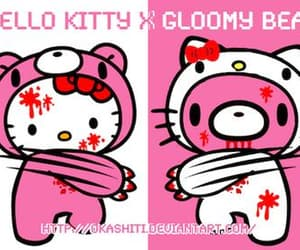 gloomy bear and hello kitty image