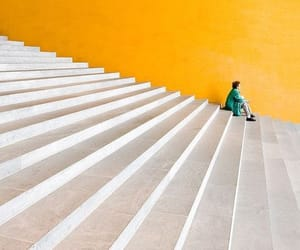 yellow, photography, and architecture image