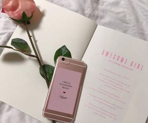 aesthetic, phrases, and pink tones image