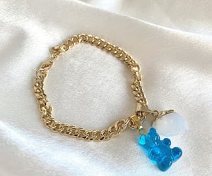 accessory, bracelet, and gold image