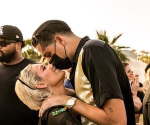 ashley, coachella, and couple image