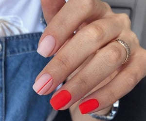 nails, uñas, and diseños image