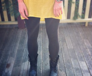 boots, friendship, and yellow image