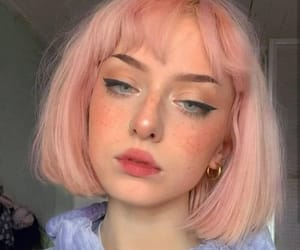 edgy, pink, and hair image