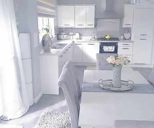 Blanc, cuisine, and grey image