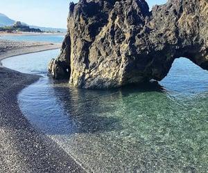 beach, italy, and photo image