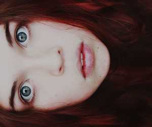 365, blue eyes, and red hair image