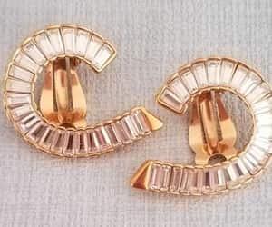 earrings, highfashion, and vintage earrings image