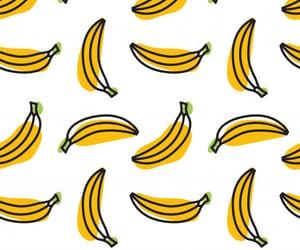 background, banana, and fruit image