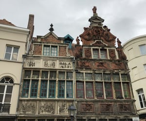 architecture, belgium, and town image