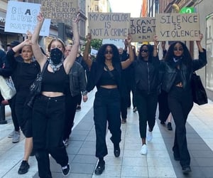 live, protest, and blm image