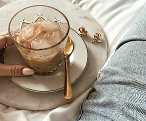 coffee, fashion, and ice image