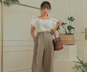 clothing, korean fashion, and aesthetic clothing image