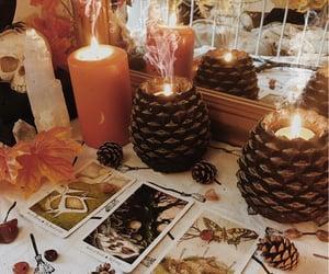 candles, pagan, and tarot image