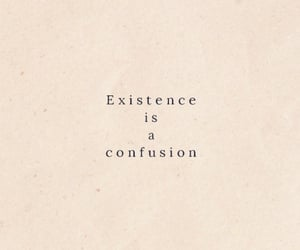 confusion, Existence, and life image