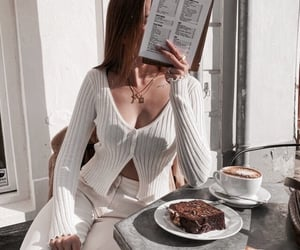 coffee, cafe, and cake image