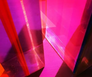 fabric, pink, and shiny image