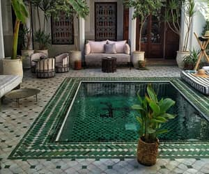 pool, home, and architecture image