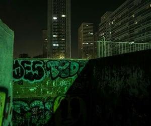 aesthetic, graffiti, and green image
