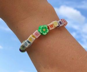 bracelet, diy, and hobi image