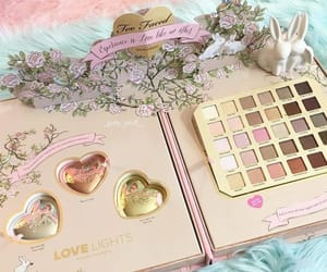 makeup, pink, and palette image