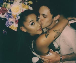 ariana grande, couple, and dalton gomez image