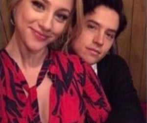 cole sprouse, riverdale cast, and lili reinhart image