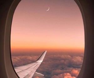 aesthetic, airplane, and dreams image