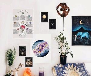 magic, spirituality, and room goals image
