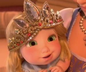 disney, disney princess, and rapunzel image