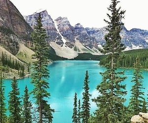 Alberta, Banff National Park, and moraine lake image
