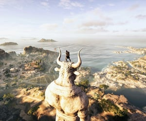 Assassins Creed, blue, and ocean image